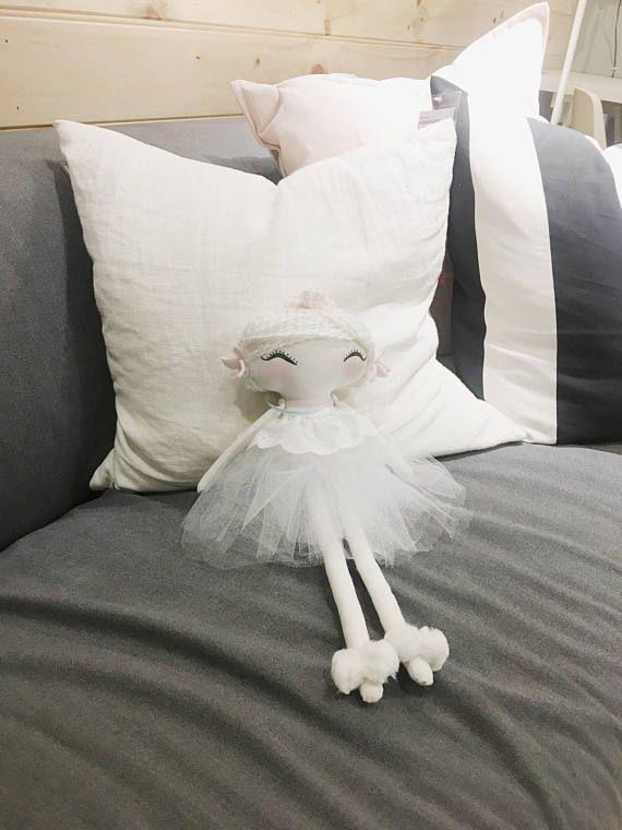 Home decoration / handmade rag doll / fabric doll / christmas