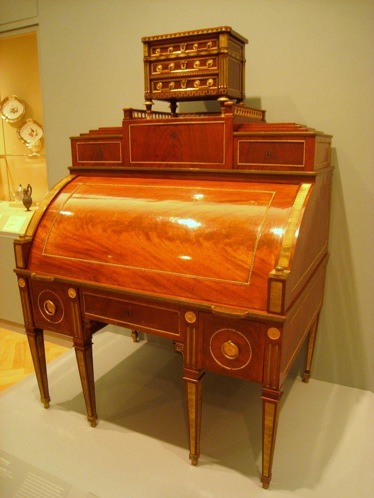 Description Desk David Roentgen C 1785 Img 1707 Jpg
