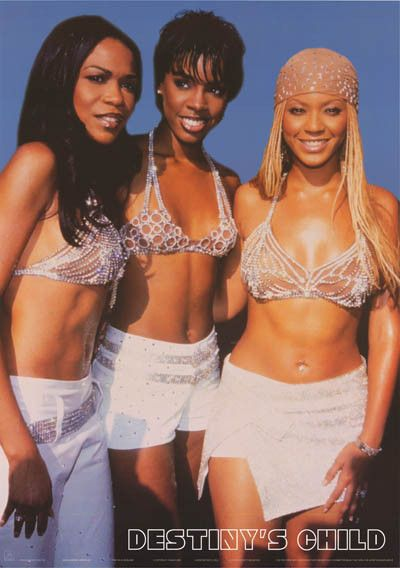 Destiny's Child Diamond Divas Beyonce 2001 Poster 24x34 – BananaRoad