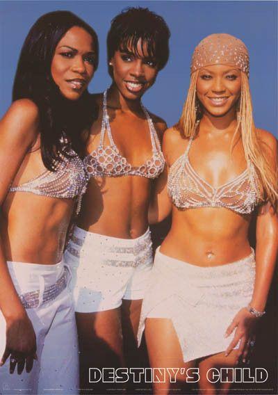 Destiny's Child Diamond Divas Beyonce 2001 Poster 24x34 – BananaRoad