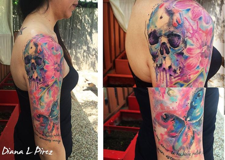 Austin Watercolor Tattoo: 17 Best Images About My Tattoo Portfolio On Pinterest