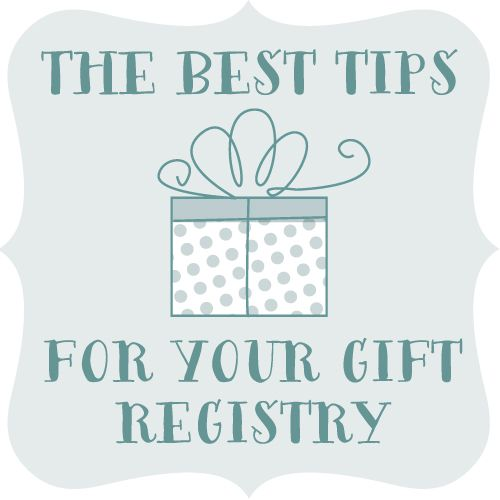 Tips For Wedding Gift Registry : 25+ Gift Registry ideas on Pinterest Wedding gift registry, Wedding ...