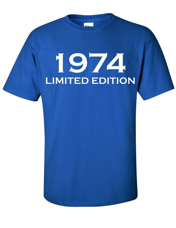 1974 Limited Edition 40th Birthday Party Shirt TShirt by Bargoonys, $14.99