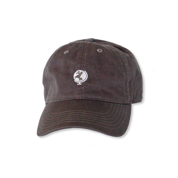 Rustic Globe Baseball Cap (Charcoal)  The everyday cap we all need! Rock this super comfy travel essential, complete with embroidered globe on front and Rustic logo on back. Adjustable strap makes for a perfect fit.  Every purchase you make helps support the Rustic Pathways Foundation and the communities where we work.