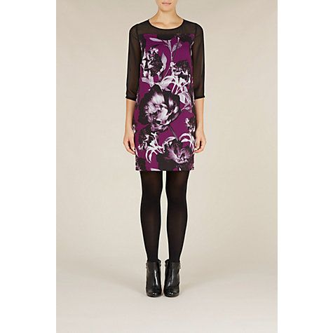 £29 Buy Kaliko Joanna Tunic Dress, Purple Online at johnlewis.com