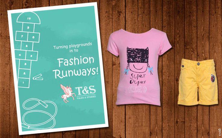 Fashion Runways for the Little Ones. #kidsfashion #kidswear #talesandstories