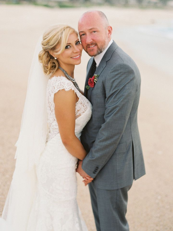Janelle & Brian our Style Me Pretty Couple  For their wedding at Villa Captiva in Cabo.