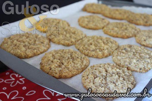 Estes Cookies de Coco Diet, que para quem é fã dessa delícia, não tem como não se apaixonar!  #Receita aqui: http://www.gulosoesaudavel.com.br/2016/06/18/cookies-coco-diet/