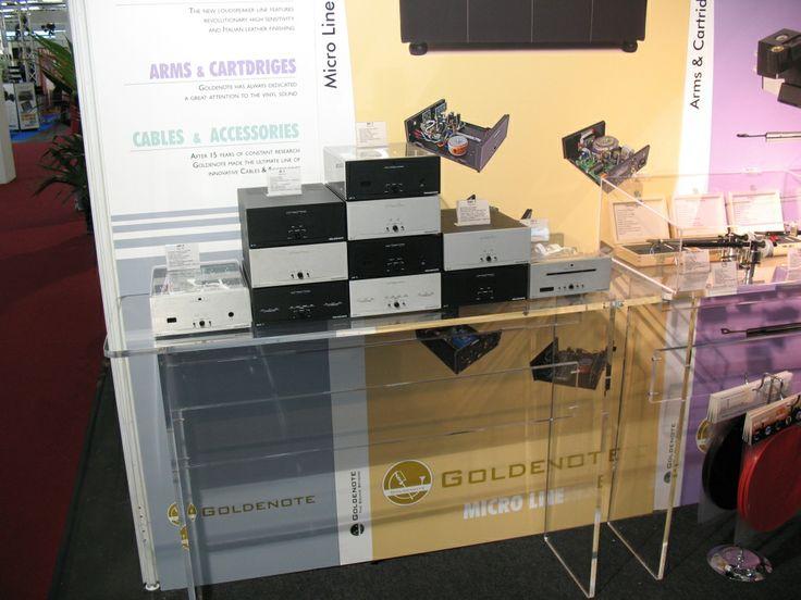 Goldnote Microline auf der High End 2012