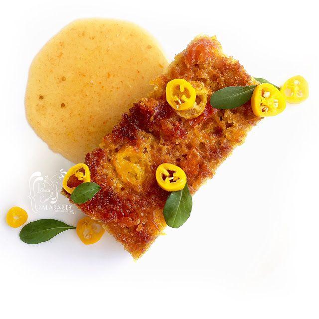 Paladares {Sabores de nati }: Veo · Veo Pastel de maíz, calabacín y queso con mermelada de chiles. Chilli, corn, cornbread, jam, jellies, mazorca, mazorca tierna, Mermelada, mermelada de chiles, naranja, Pastel de maíz, queso, sémola, tomates cherry, Zucchini