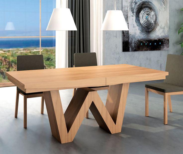 Las 25 mejores ideas sobre mesa comedor extensible en - Mesas modernas de comedor ...
