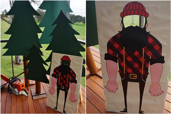Pin for Later: If Your Little Guy Is Into All Things Big and Burly, Then This Lumberjack-Themed Party Is Right up His Alley