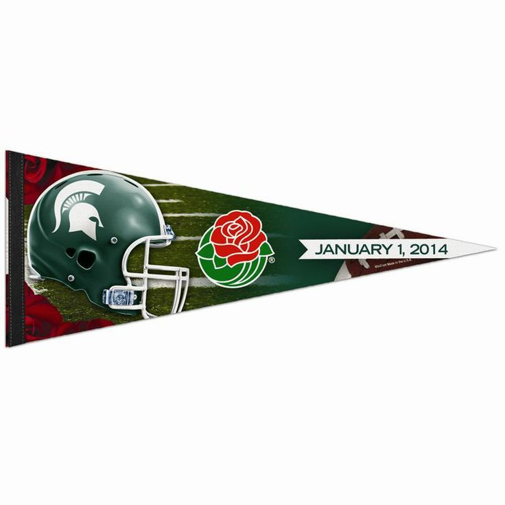 Michigan State Rose Bowl Pennant | Spartan Bookstore