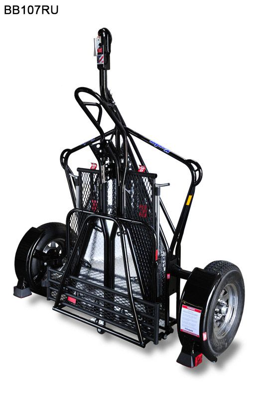 kendon single stand-up motorcycle trailer - free shipping