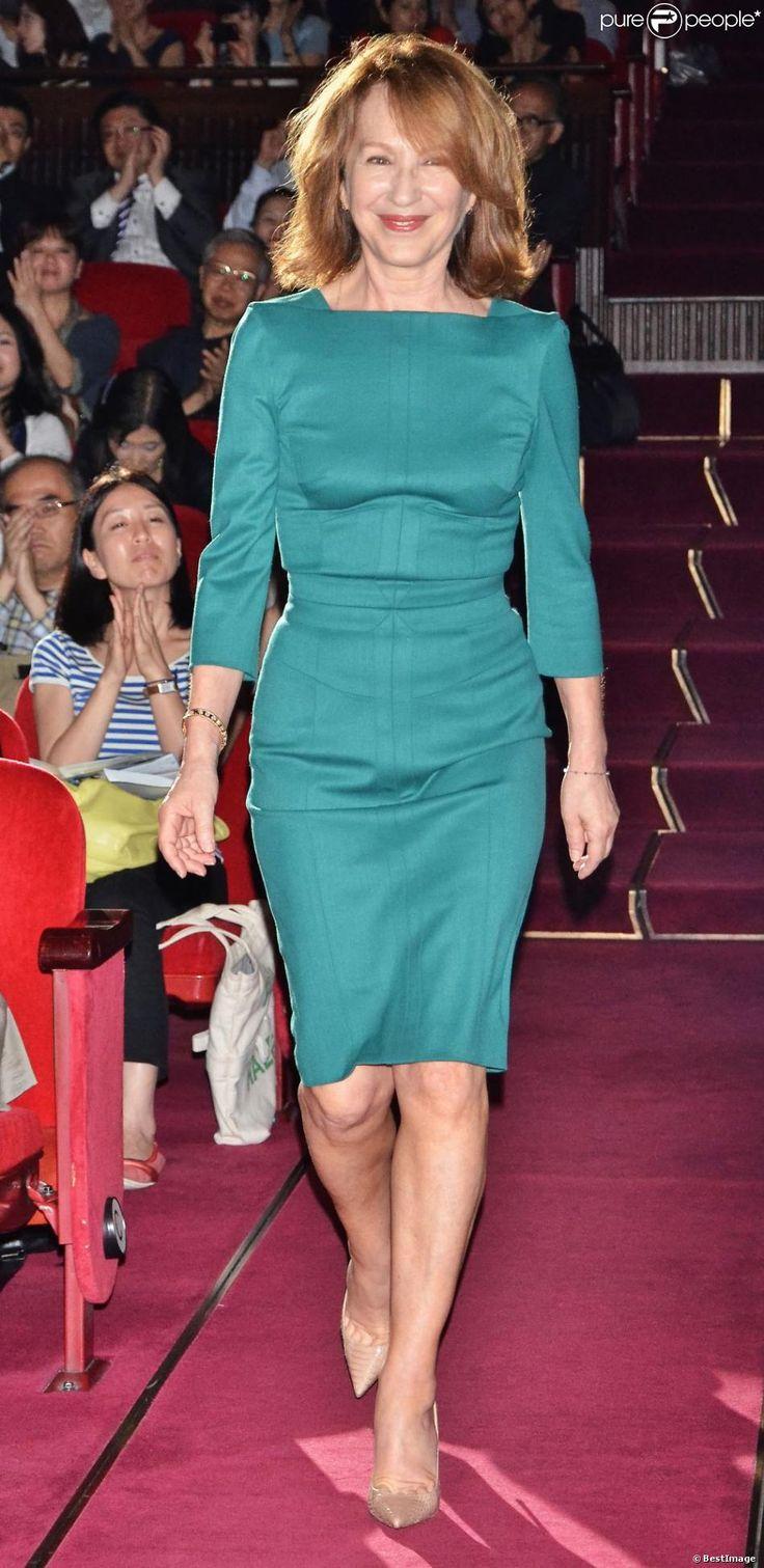 Nathalie Baye lors de l'ouverture du Festival du Film Francais à Tokyo le 21 juin 2013