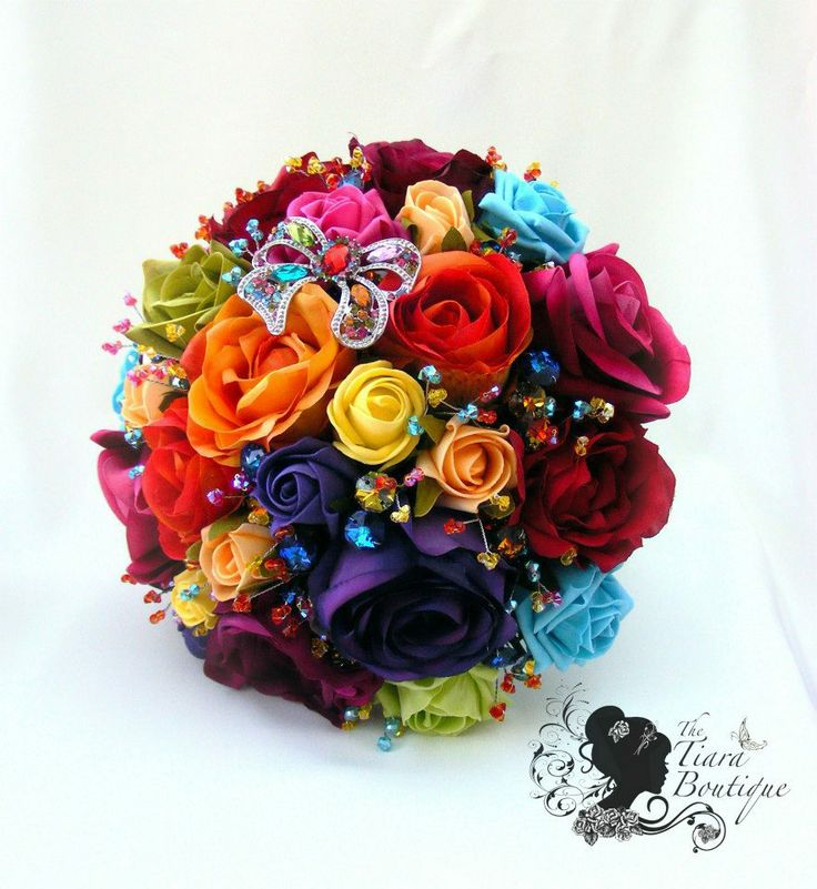 A rainbow wedding may seem unconventional during the winter months, but it is the perfect time of year to add some color to your big day!