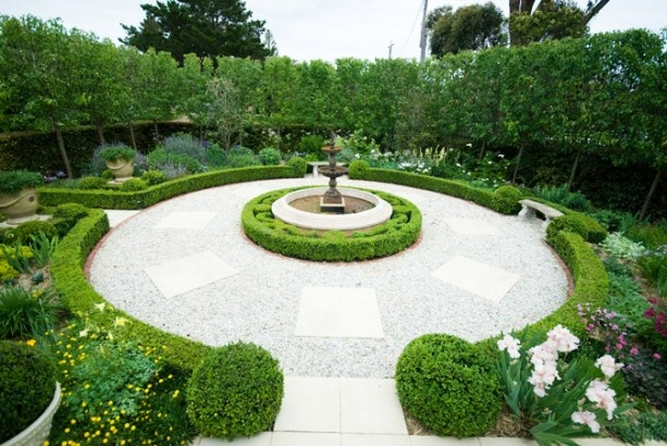 Garden Design: Garden Design With Important Thing In French Garden