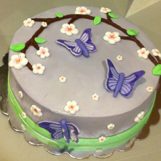 Butterfly Baby Shower Cake Images : Butterfly cake for baby shower. Joys Shower Pinterest