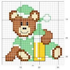 Résultats de recherche d'images pour «modèle de grille broderie pour bébé gratuit»