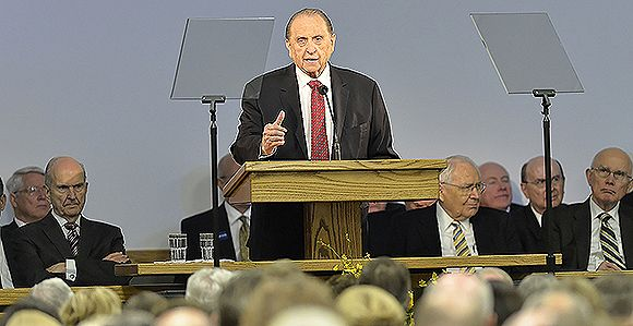 """Prophet Introduces """"Monson Rule"""" and Advises New Mission Presidents"""