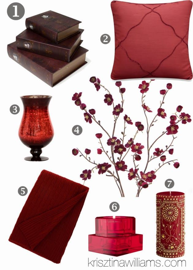 39 best burgundy decor images on Pinterest Burgundy decor Home