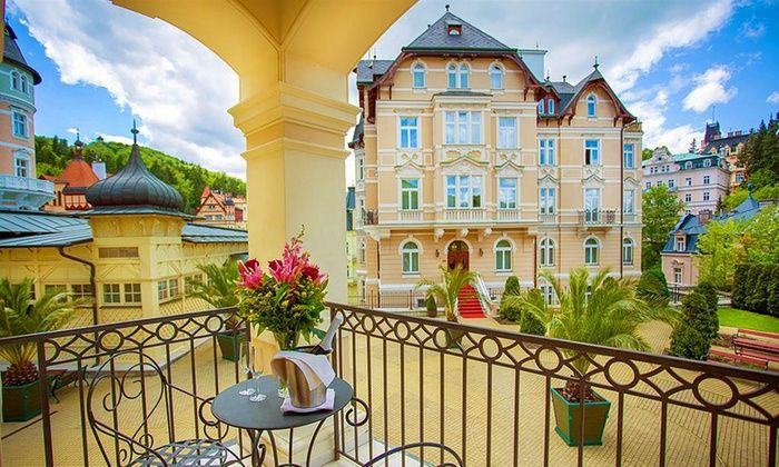 Savoy Westend Hotel***** - Karlovy Vary: Karlsbad, Tschechien: 3 bis 8 Tage für 1 oder 2 im DZ oder einer Suite inkl. Deluxe- oder VIP-Paket im 5* Hotel