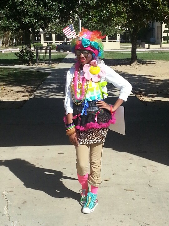 WaCkY TaCkY day!!! Keyonna.