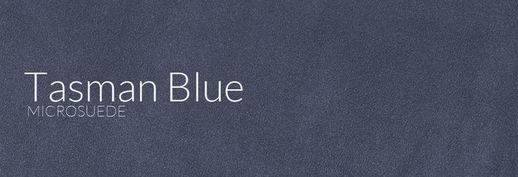 Microsuede - Tasman Blue