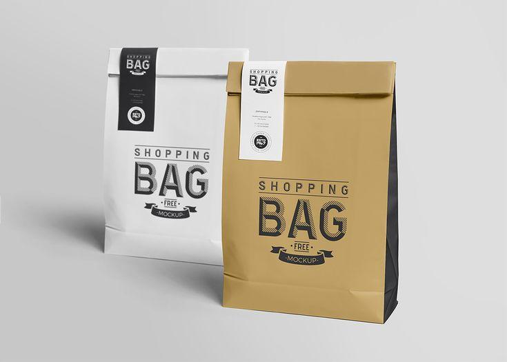 Awesome Paper Bag Mock Up Free Free Mockup Paper Bag Design Bag Mockup Coffee Bag Design