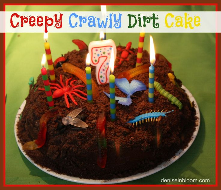 Creepy Crawly Dirt Cake