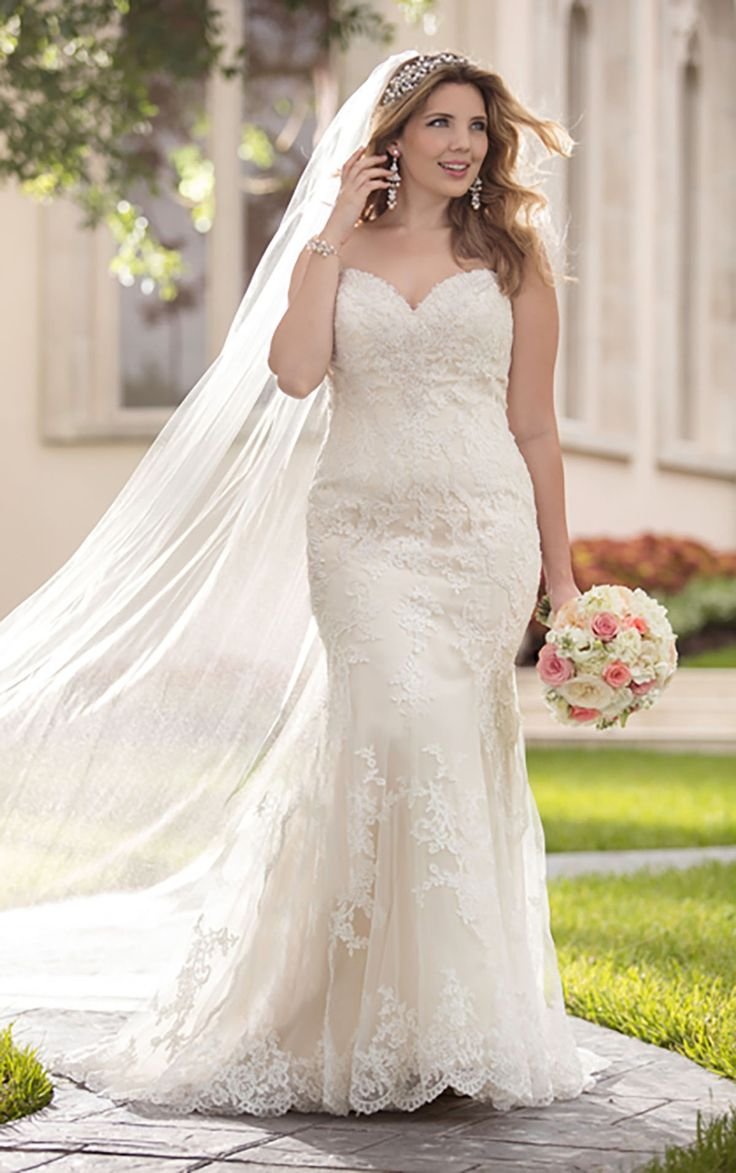 160 best Brautkleider xxl images on Pinterest | Wedding dressses ...