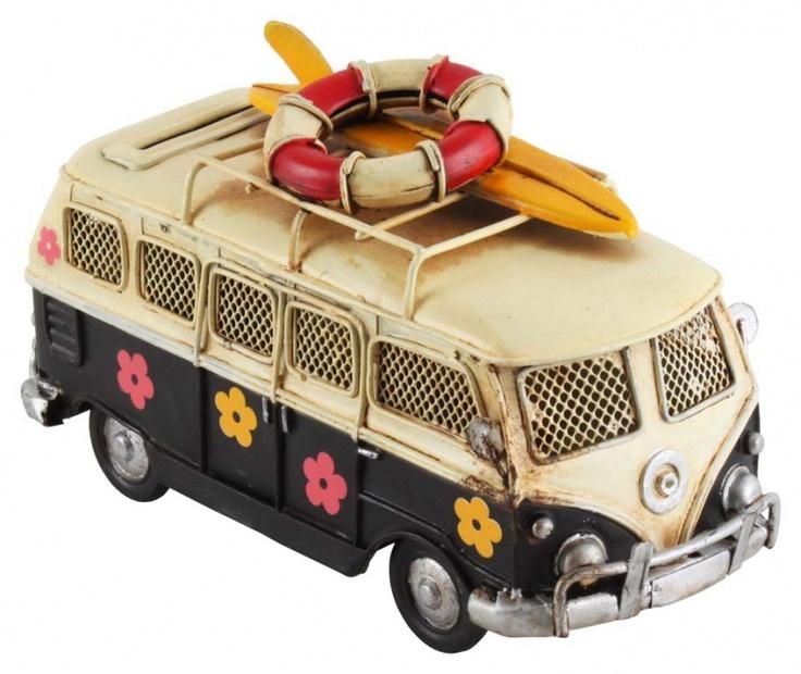 "Machetă auto ""Flower-power bus"""