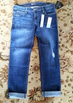 Kut from the Kloth Kate Distressed Boyfriend Jean I've been told that these jeans are to die for. :)
