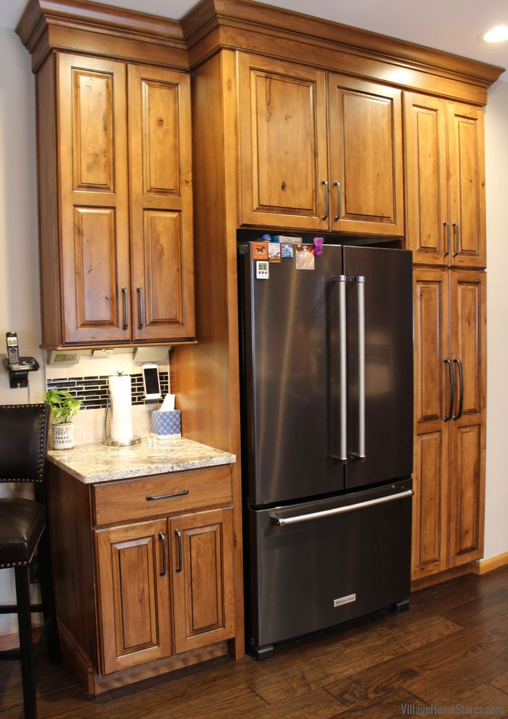Rural Kewanee Kitchen Gets a Refined Rustic New Look ...