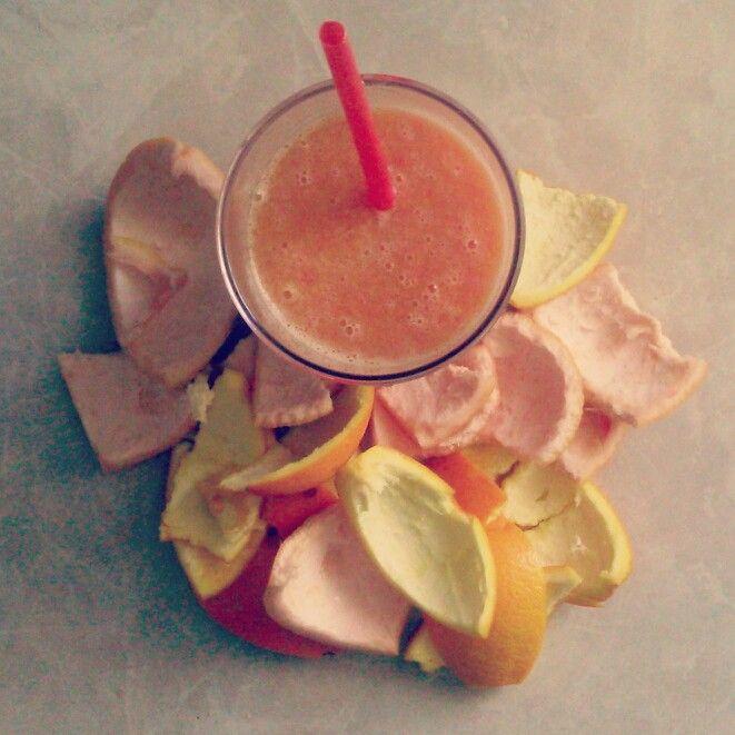 Healthy eating - oranges&grapefriuts&goji berries