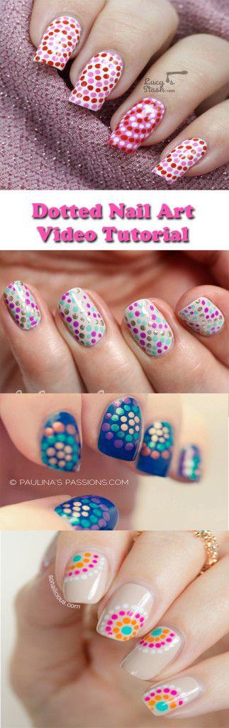Dotticure Nail Art Design video