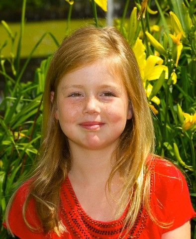 Princess Alexia of the Netherlands (age 8)