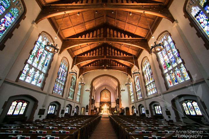 atlanta wedding ceremony venue st lukes episcopal church sanctuary atlanta wedding venues pinterest episcopal church