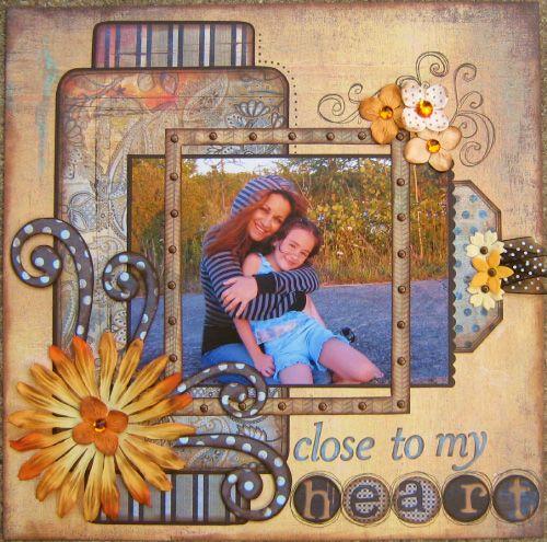 As always, love Gabrielle. Close to my Heart @gabrielle Panetti via Scrapbook.com