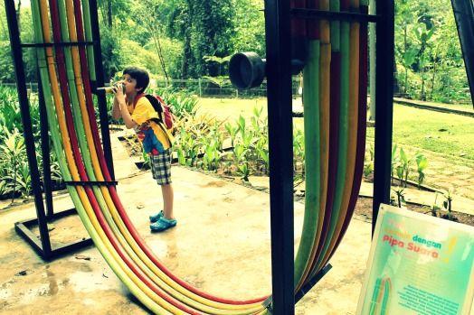 Sound Pipe - EcoArt Park, Sentul City, Bogor, West Java, Indonesia