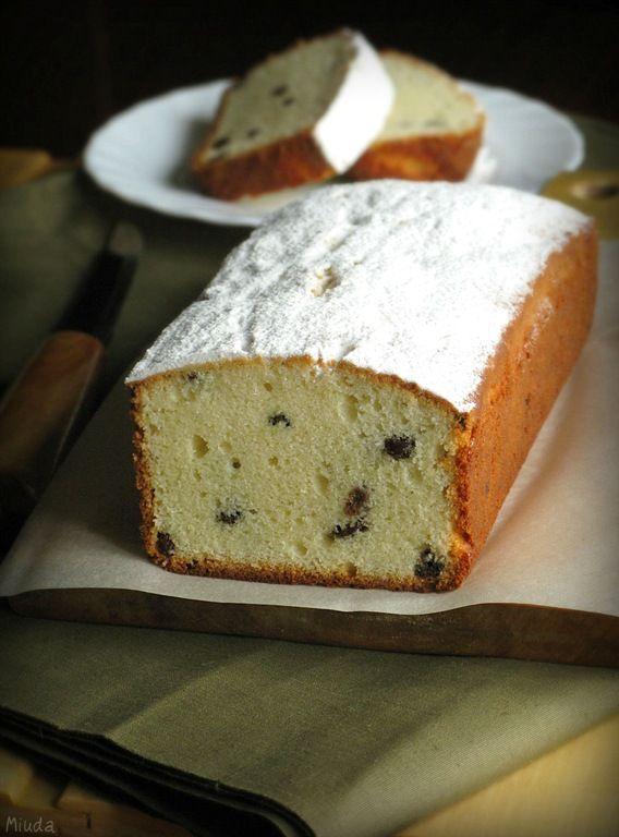 Verdade de sabor: Творожный кекс / Bolo de requeijão