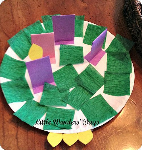 Advent Crafts for Kids Simple advent wreath - decorate paper plate green, paper candles, add flames each week