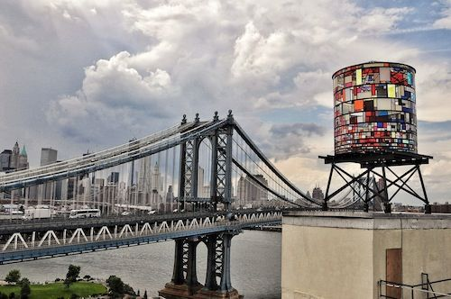 Watertower Installation In Dumbo