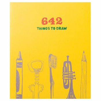 642 Things to Draw. Journal idea for the little man