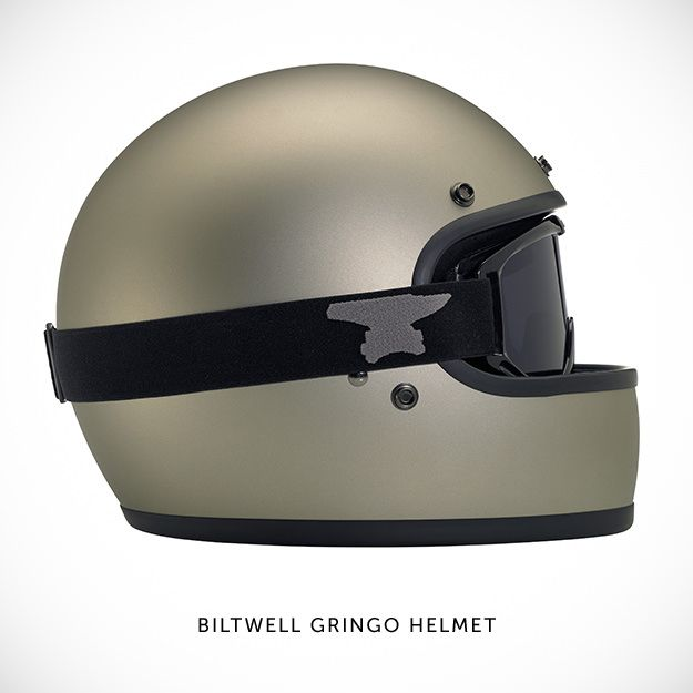Cool Stuff We Like Here @ Cool Pile, The Home of Coolest Gadgets And Men Lifestyle = CoolPile.com -------  ------- Biltwell Gringo Motorcycle helmet