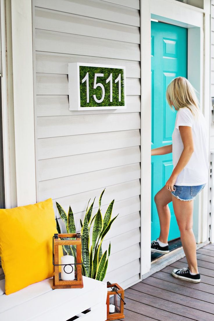 11 Creative Ways to Show Off Your House Number - How To Build It