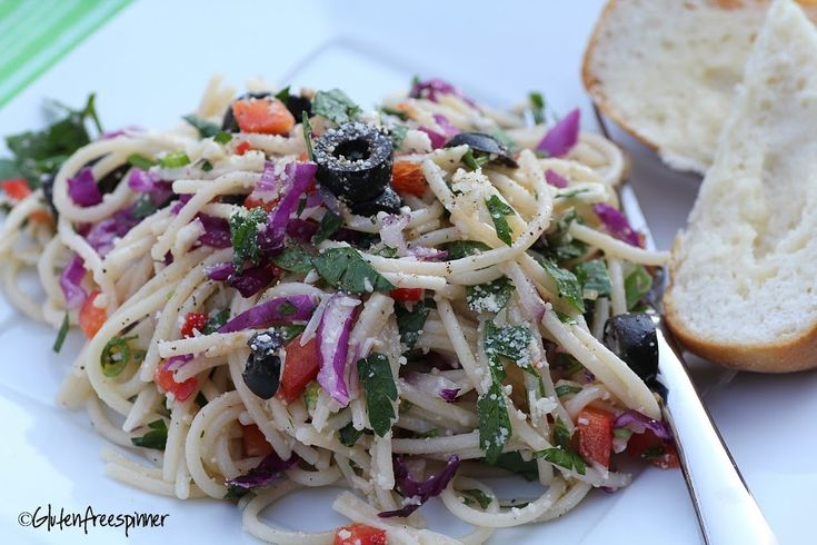 Marco Polo Salad - use my recipe with the pretty red cabbage added in.  pic is great.