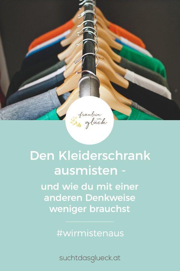 Wie du deinen Kleiderschrank ausmistest und mit einer anderen Denkweise weniger brauchst -  Fräulein im Glück - nachhaltiger Mamablog