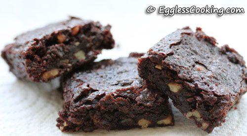 Made these last night. Loved them! Very light, almost cake-like. (Vegan, no egg, no oil, tofu brownies). Delicious and healthy. :)