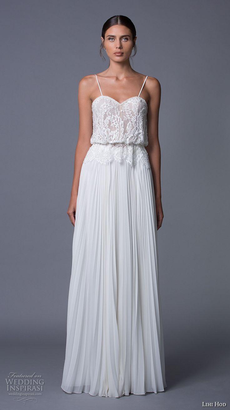 best 25 pleated wedding dresses ideas on